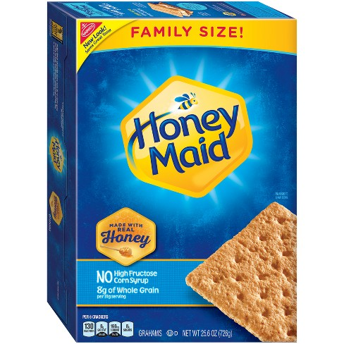 Honey Maid Graham Crackers Family Size - 25.6oz - image 1 of 1