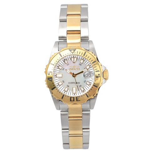 Women's Invicta 17385 Pro Diver Stainless Steel Quartz Watch - Two Tone - image 1 of 3