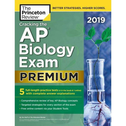 Cracking the AP Biology Exam 2019, Premium Edition - (College Test  Preparation)by The Princeton Review