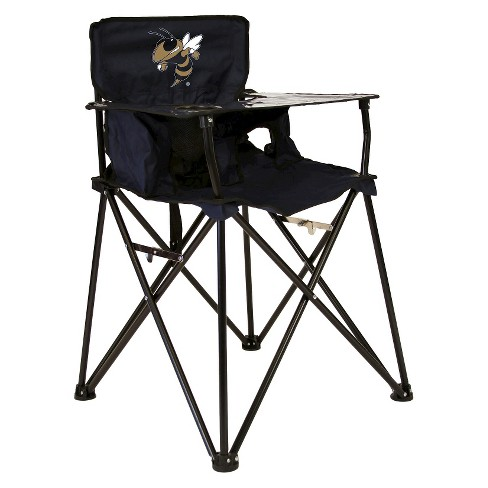 ciao! baby® Georgia Tech Yellow Jackets Portable High Chair in Navy - image 1 of 1