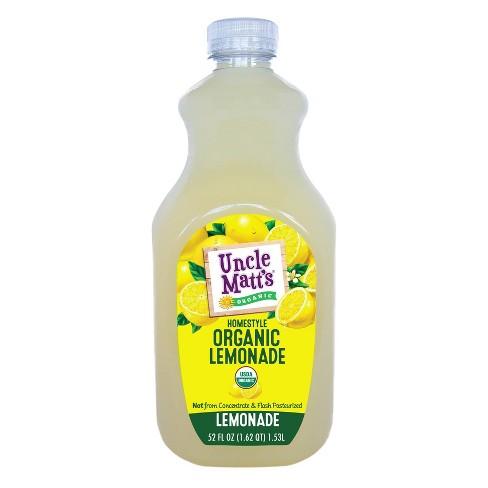 Uncle Matt's Organic Homestyle Lemonade - 52 fl oz - image 1 of 3