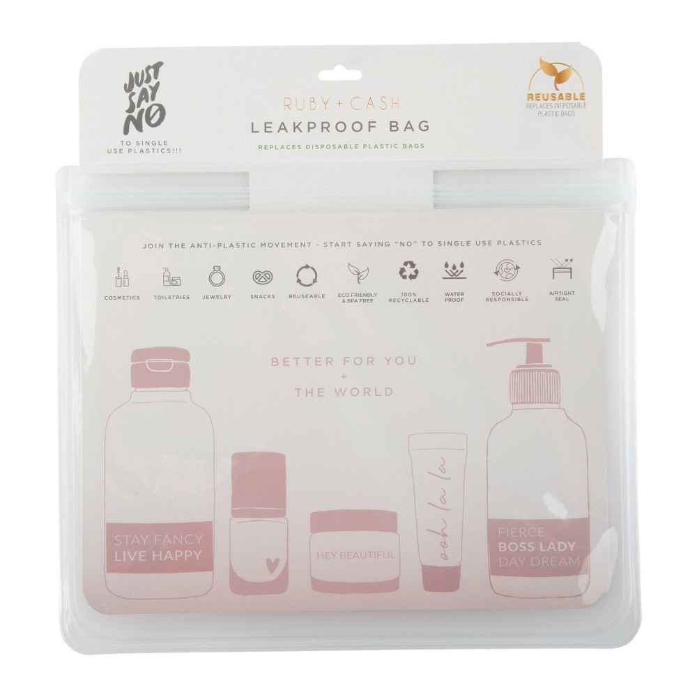 Image of Ruby+Cash Clear Leakproof Pouch