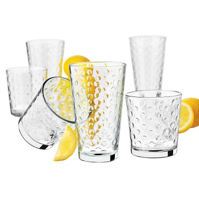 Libbey Awa Glass Drinkware 16-pc. Set (eight- 13 oz, eight- 16 oz)
