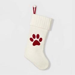 Knit Paw Christmas Stocking - Wondershop™