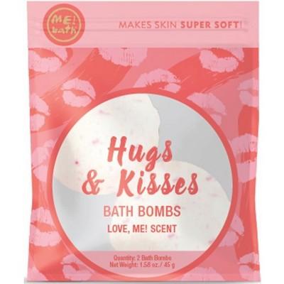 ME! Bath Hugs And Kisses Bath Bombs - 2ct