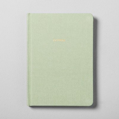 Fabric Covered Journal - Green - Hearth & Hand™ with Magnolia