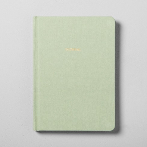 Fabric Covered Journal Green - Hearth & Hand™ with Magnolia - image 1 of 2