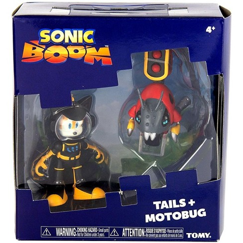 Sonic The Hedgehog Sonic Boom Tails And Motobug Action Figure 2 Pack Target