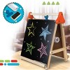 Discovery Kids Tabletop Dry Erase and Chalk Easel - image 3 of 4