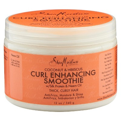Hair Styling: SheaMoisture Curl Enhancing Smoothie