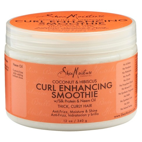 SheaMoisture Coconut and Hibiscus Curl Enhancing Smoothie - 12oz - image 1 of 2