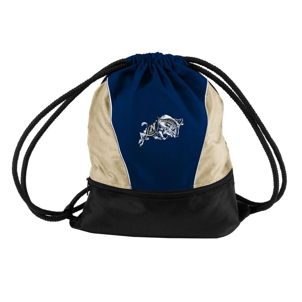Ncaa Naval Academy Midshipman New Logo Drawstring Bag