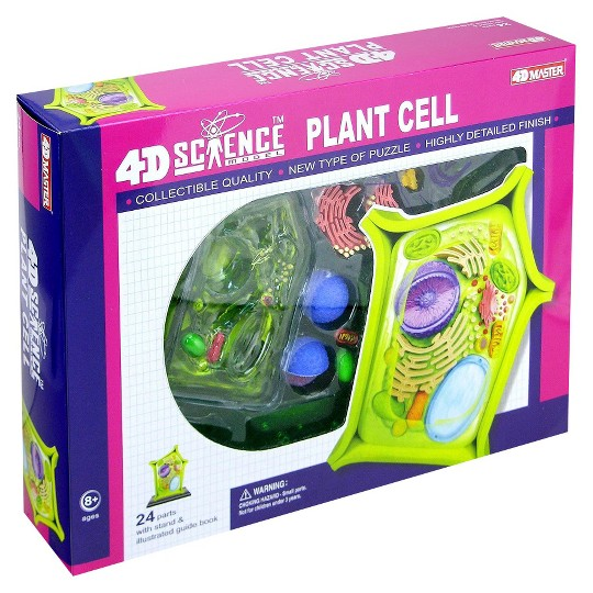John N. Hansen 4D-Science Plant Cell Anatomy Model 24pc image number null