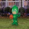 Pj Masks Airblown Gekko Jack-O' Lantern Inflatable Holiday Decoration - image 3 of 3