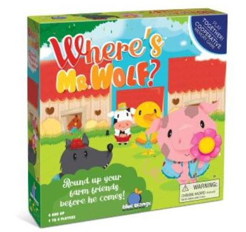 Where S Mr Wolf Board Game Target