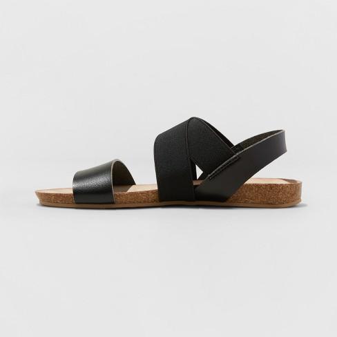 40c6feac9e7 Women's Kerryn Elastic Strap Footbed Slide Sandals - Universal Thread™  Cognac 7