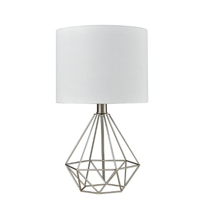Wire Geo Table Lamp Silver - Project 62™