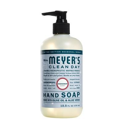 Mrs. Meyer's Clean Day Hand Soap - Snowdrop - 12.5 fl oz