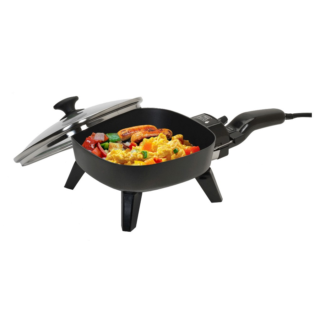 "Image of ""Elite Cuisine 7"""" Electric Skillet, Black"""