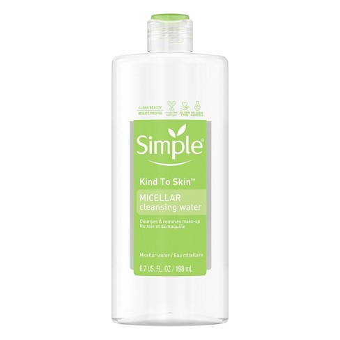 Unscented Simple Micellar Cleansing Water - 6.7oz - image 1 of 3