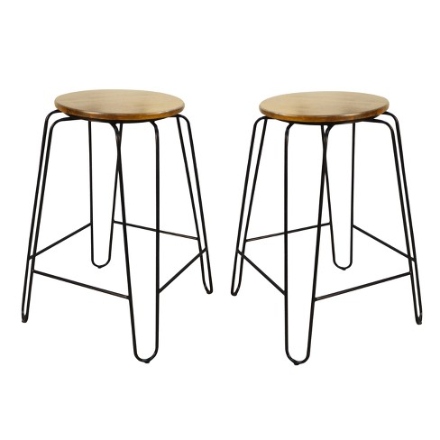 "Winston 24"" Counter Stool (Set of 2) - Carolina Chair and Table - image 1 of 2"