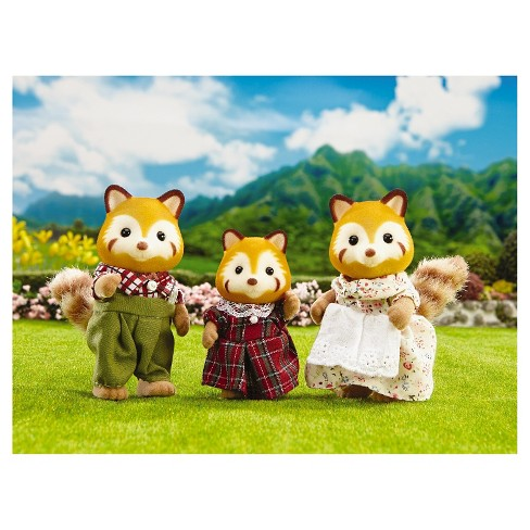 Calico Critters Red Panda Family - image 1 of 1