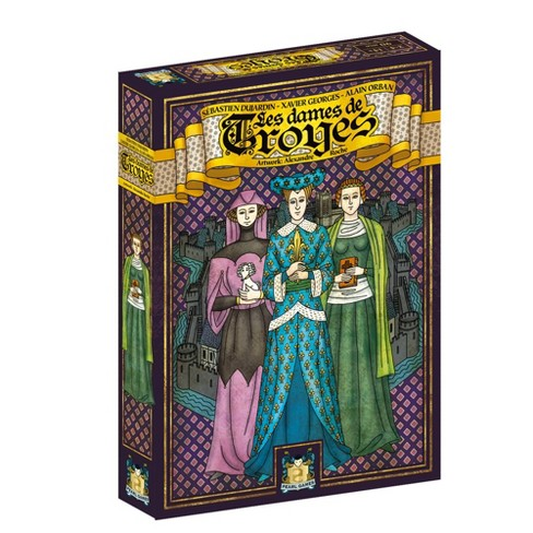 Pearl Games Troyes: The Ladies of Troyes Expansion - image 1 of 3