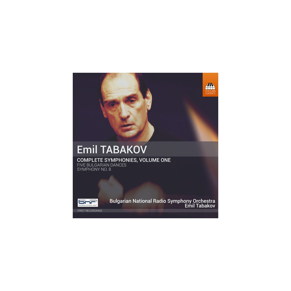 Bulgarian National R - Tabakov:Complete Syms Vol 1 (CD)