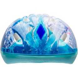 Frozen 3D Tiara Child Bike Helmet