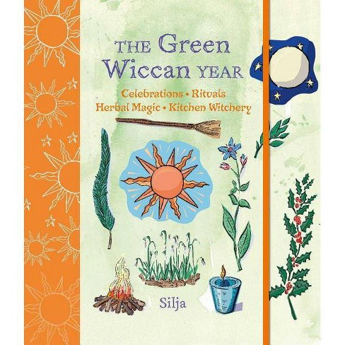 The Green Wiccan Year - by  Silja (Hardcover) - image 1 of 1