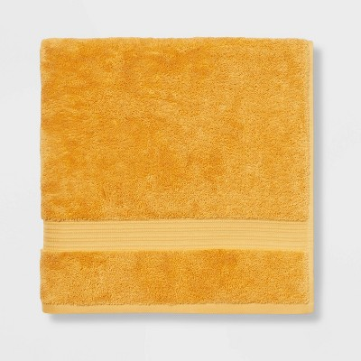 Antimicrobial Oversized Bath Towel Gold - Total Fresh