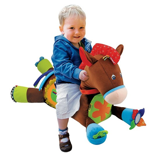 Melissa & Doug Giddy-Up and Play Baby Activity Toy - Multi-Sensory Horse image number null