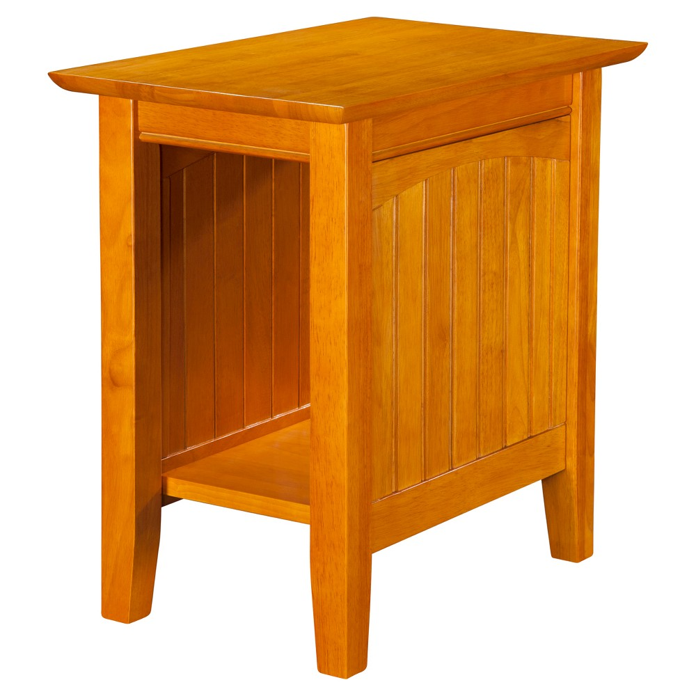 Image of Nantucket Chair Side Table - Caramel Latte - Atlantic Furniture