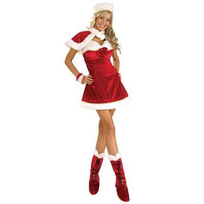 Rubies Miss Santa Costume for Adult