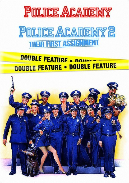 Police Academy/Police Academy 2 (DVD) - image 1 of 1