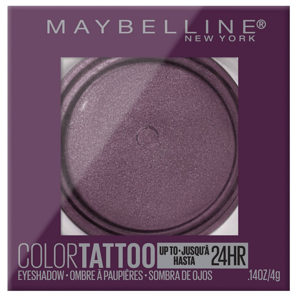 Image of Maybelline Color Tattoo Eye Shadow Knockout - 0.14oz