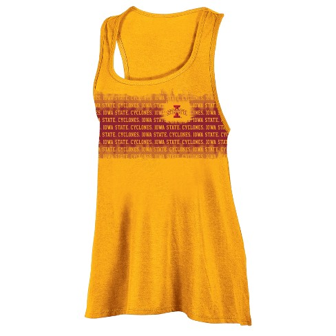 Iowa State Cyclones Women's Collegiate Victory Bi-Blend Alt Racerback Tank Top - image 1 of 1