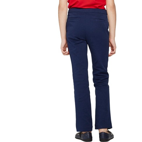 13f5d9534a Girls  Skinny Ponte Uniform Trousers - Cat   Jack™   Target