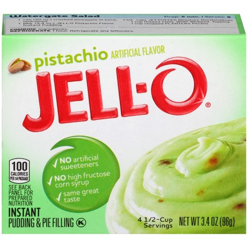 Jell-O Instant Pistachio Pudding & Pie Filling - 3.4oz - image 1 of 3