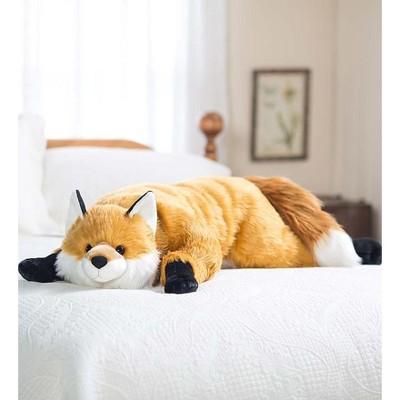 Fuzzy Fox Body Pillow