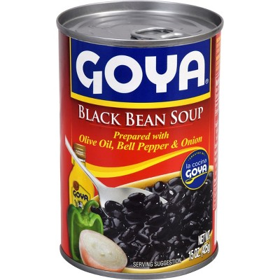 Goya Black Bean Soup 15oz