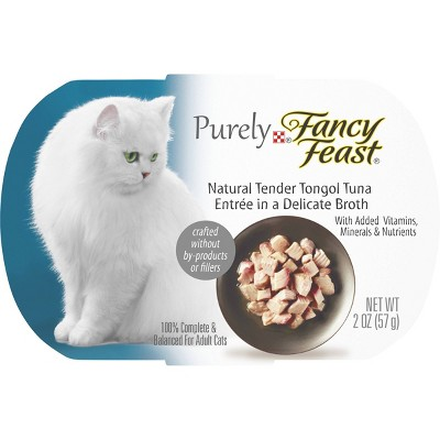 Cat Food: Fancy Feast Purely Natural