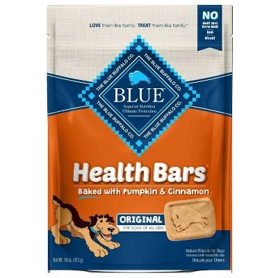 Blue Buffalo Pumpkin & Cinnamon Health Bar Dog Treats - 16oz