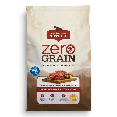 Rachael Ray Nutrish Zero Grain Beef, Potato & Bison Recipe Dry Dog Food - 3.5lbs