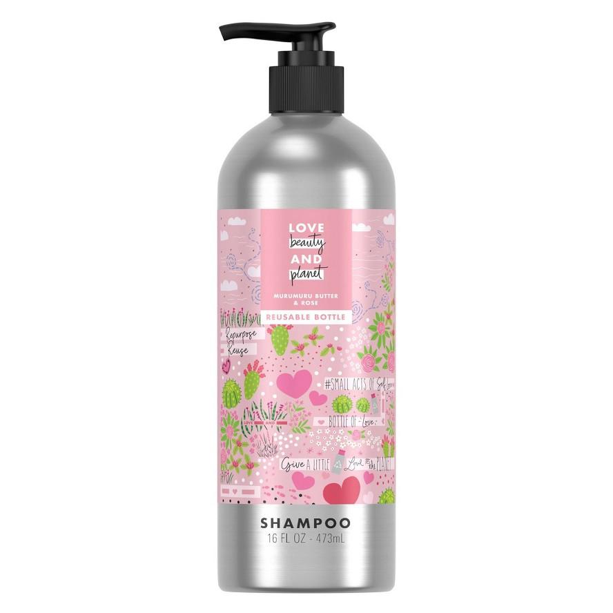 Love Beauty and Planet Murumuru Butter & Rose Shampoo