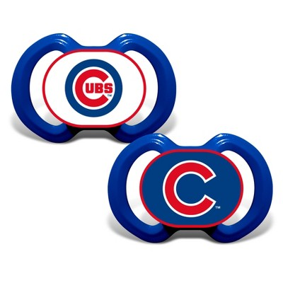 MLB Chicago Cubs 2pk Pacifier Set