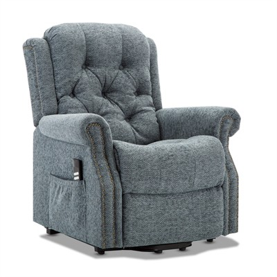Madison Steel Blue Lift Chair - Comfort Pointe