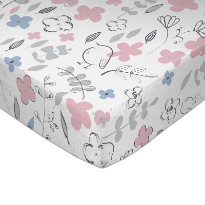 Lolli Living Crib Baby Fitted Sheet - Mazie