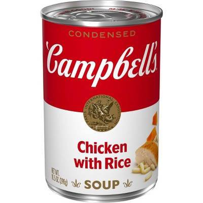 Campbell's Condensed Chicken with Rice Soup - 10.5oz