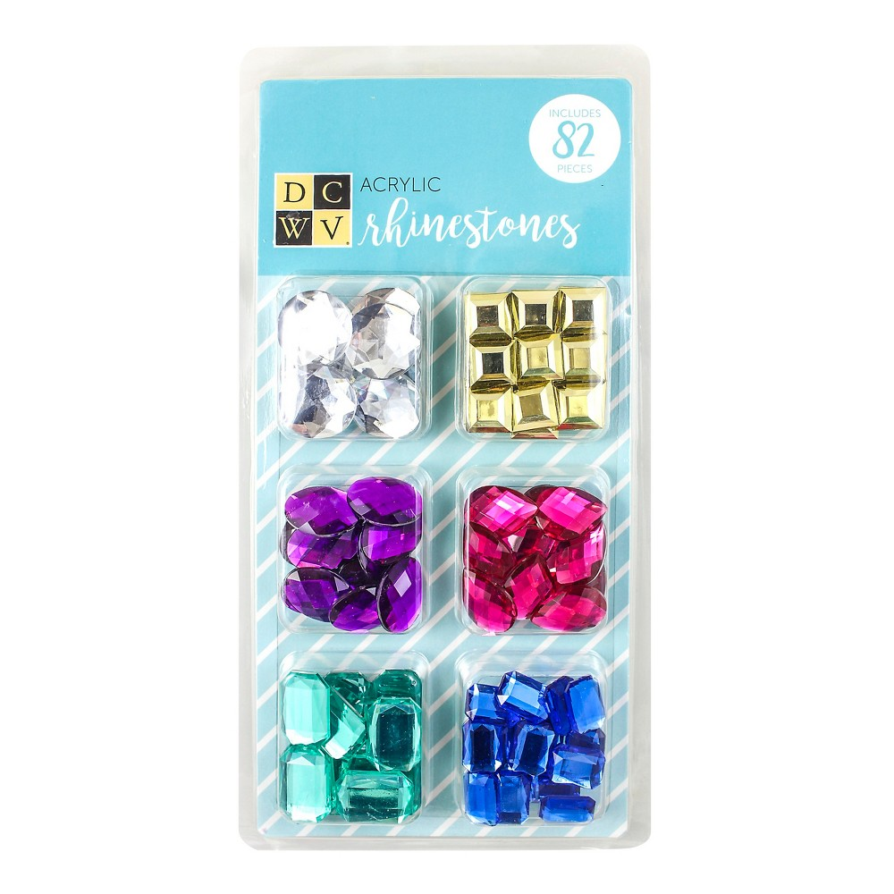 Image of DCWV Rhinestones, 82ct, craft accessories and embellishments